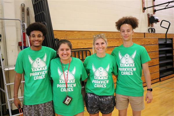 Every Parkview student spends day serving others in Springfield