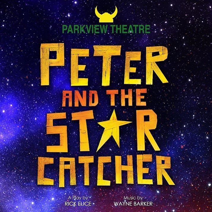 "Parkview Theatre is proud to present ""Peter and the Starcatcher"" April 4th - 6th"