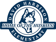 David Harrison Logo - Home of the Huskies
